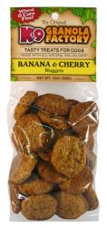 K9 Granola Factory Banana & Cherry Nuggets - 12 oz.