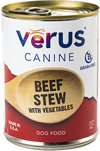 Verus - Canned Beef Stew Wet Dog Food
