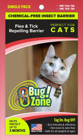 0 Bug Zone - Flea & Tick Single Pack for Cats