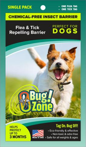 0 Bug Zone - Flea & Tick Single Pack for Dogs