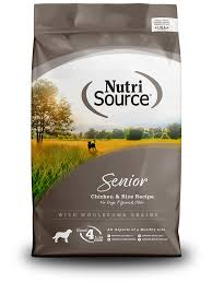 Nutri Source - Senior Dry Dog Food