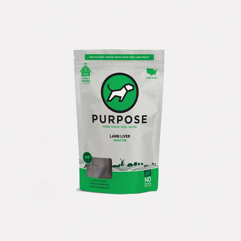 Purpose Freeze-Dried Lamb Liver