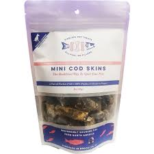 Pierless Pet Treats Mini Cod Skins