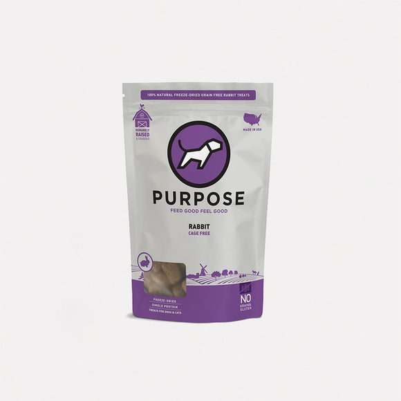 Purpose Freeze-Dried Rabbit