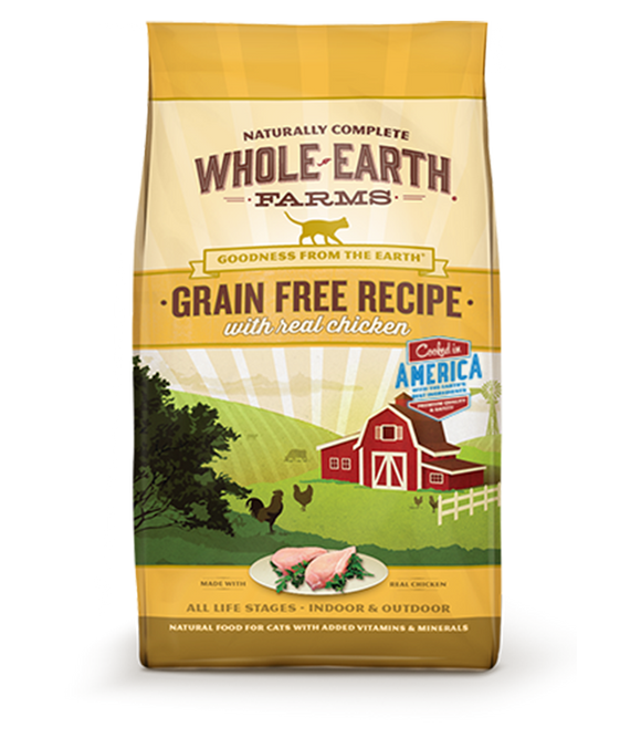 Whole Earth Farms - Chicken Grain Free Dry Cat Food