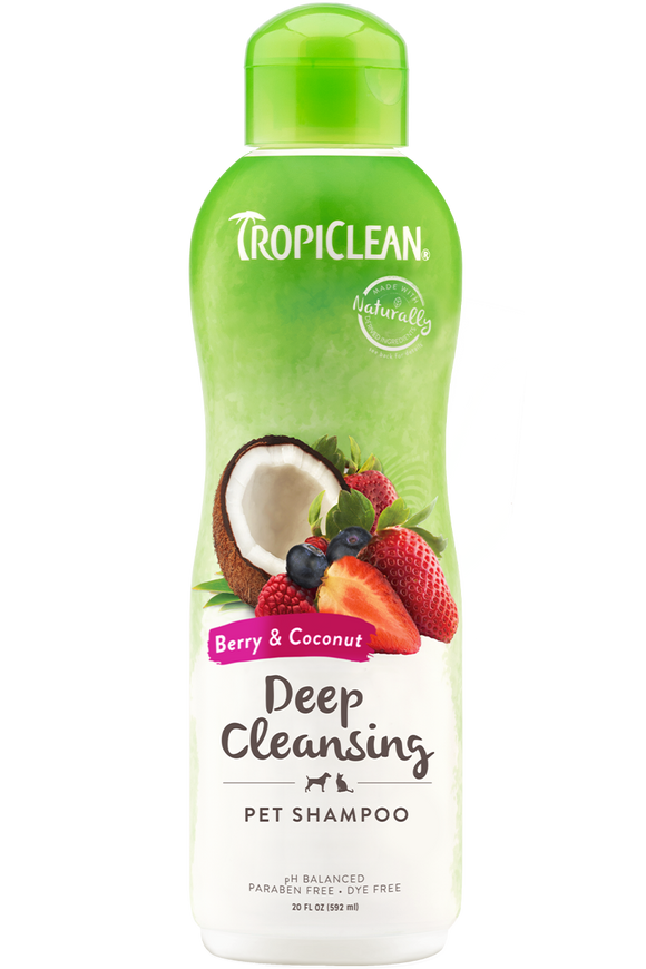 TropiClean - Berry & Coconut Deep Cleansing Shampoo