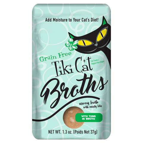 Tiki Cat Broths with Tuna