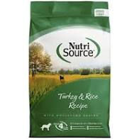 Nutri Source - Turkey & Rice Dry Dog Food