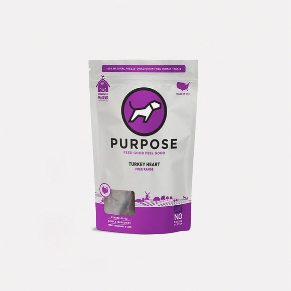 Purpose Freeze-Dried Turkey Heart