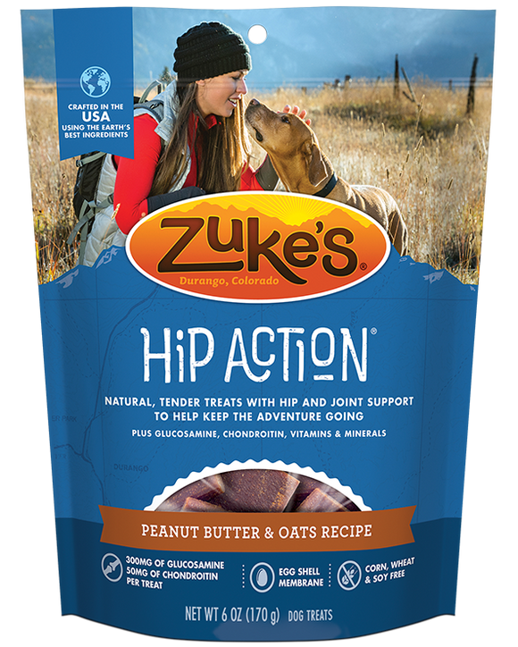 Zuke's - Hip Action - Peanut Butter