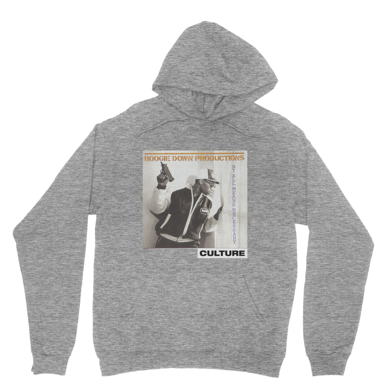 By Any Means Necessary Culture Hoodie