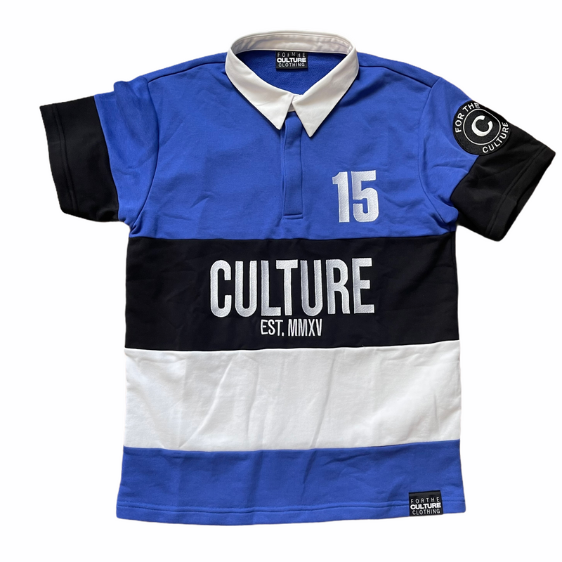 Culture Rugby Polo Short Sleeve Shirt