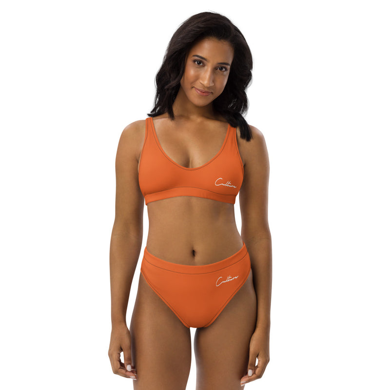 The Culture Signature High-waisted Bikini