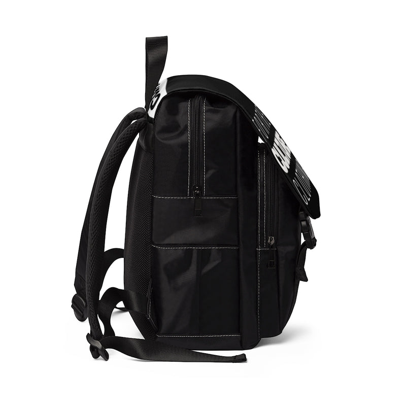 For The Culture Logo Unisex Casual Shoulder Backpack