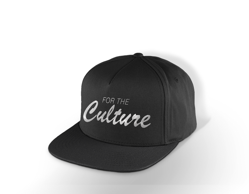 For The Culture Cursive Snap Back