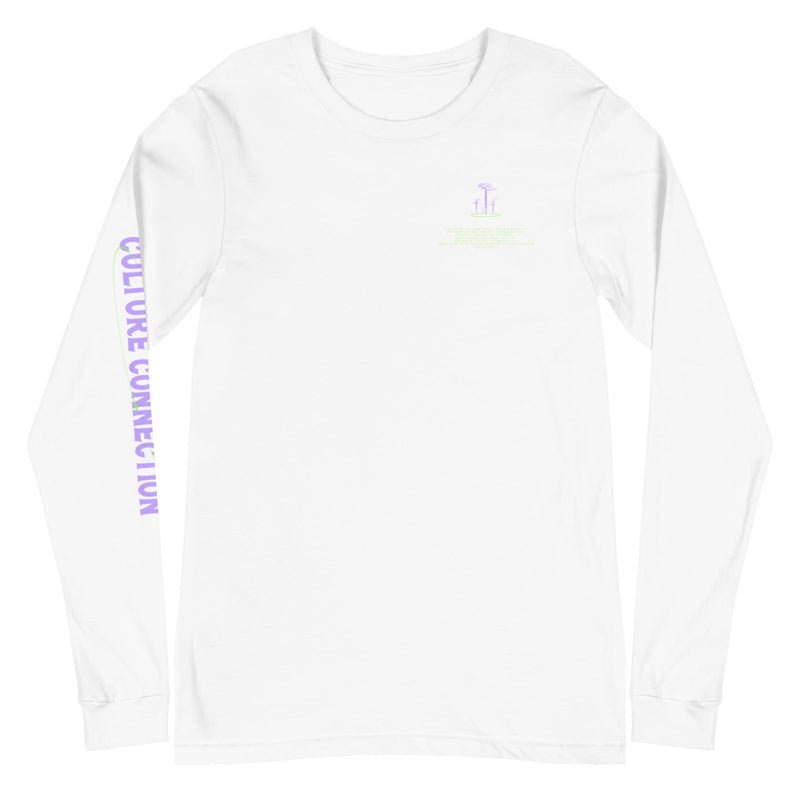 Culture Universe Connection Unisex Long Sleeve Tee