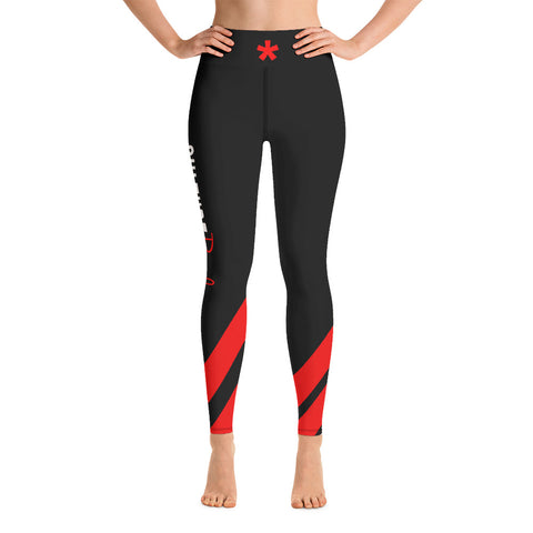 Culture Red Yoga Leggings