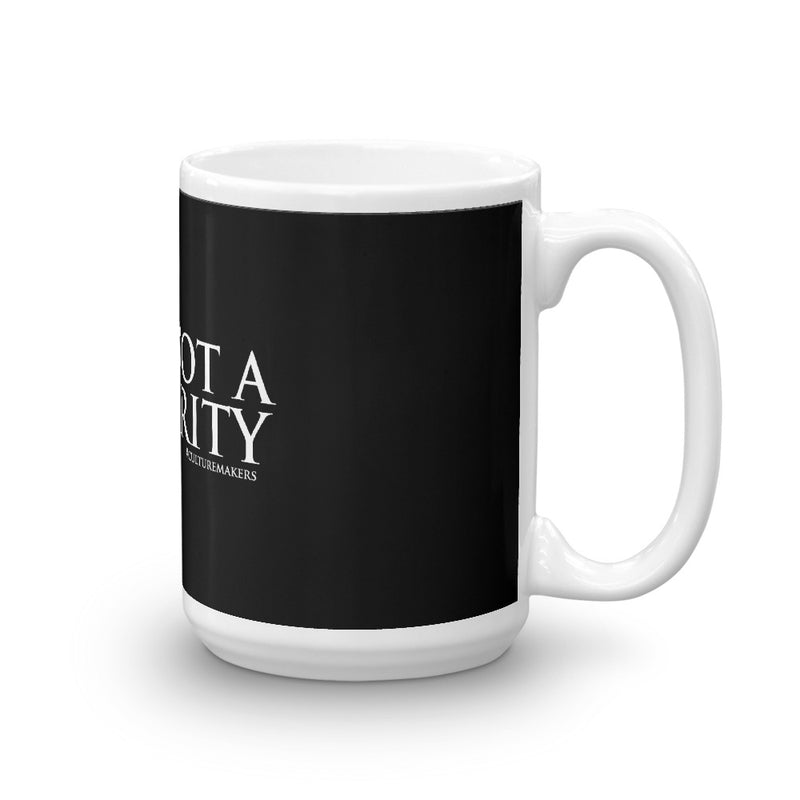 "CultureMakers ""I Am Not A Minority"" Mug - Limited Edition"