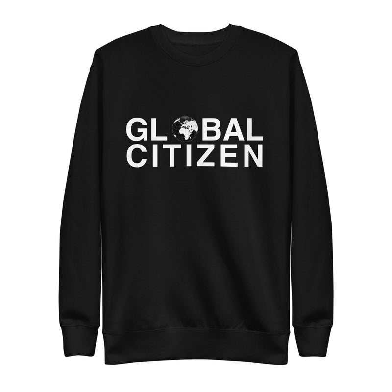 I AM C.U.L.T.U.R.E.D. Global Citizen Logo Unisex Sweatshirt