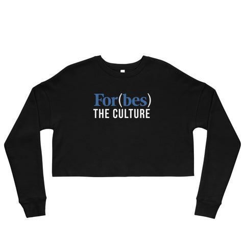 For(Bes) The Culture Crop Sweatshirt