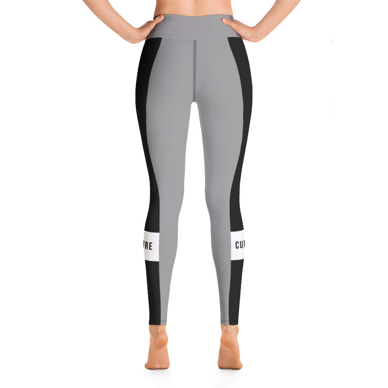 Culture Block Stripe Yoga Leggings