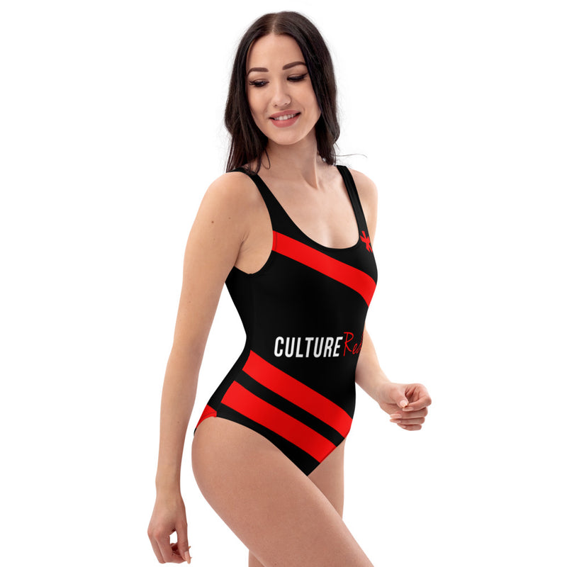 Culture Red One-Piece Swimsuit