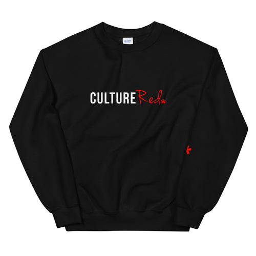 Culture Red Logo Sweatshirt