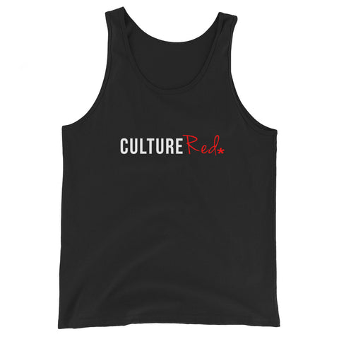 Culture Red Tank Top
