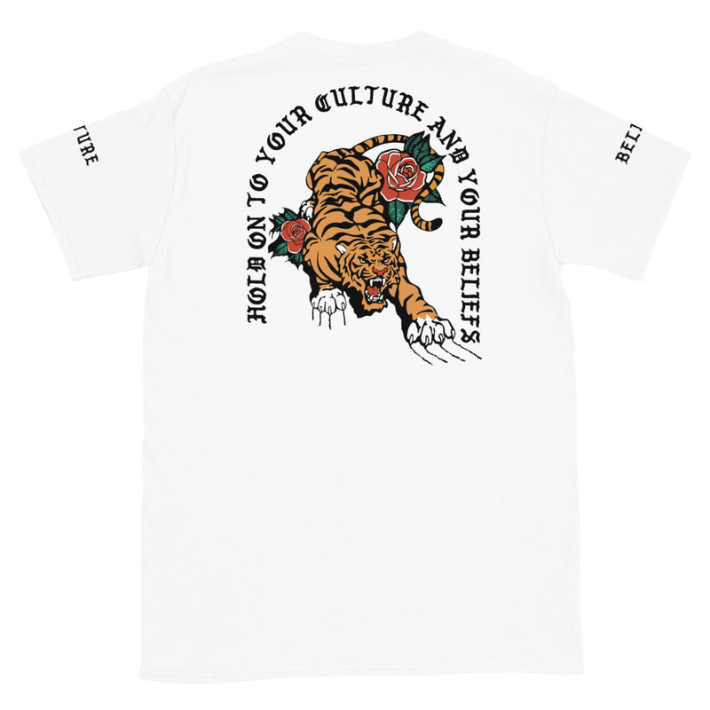 Culture and Beliefs Short-Sleeve Unisex T-Shirt