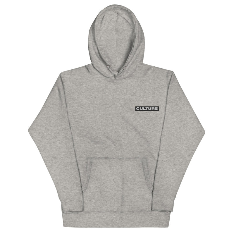 Block Culture Embroidered Logo Hoodie