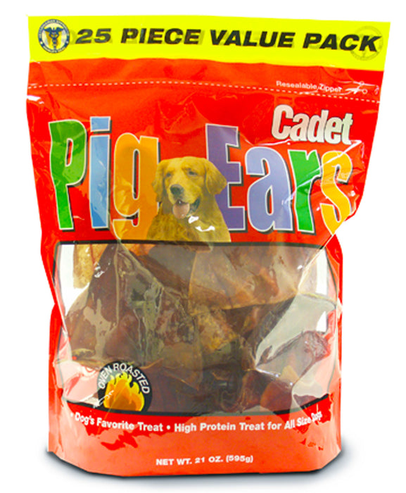 Cadet Pig Ears Dog Treats