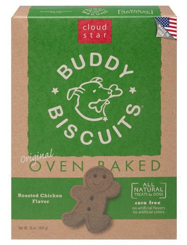Cloud Star Buddy Biscuits Oven Baked Roasted Chicken Dog Treats