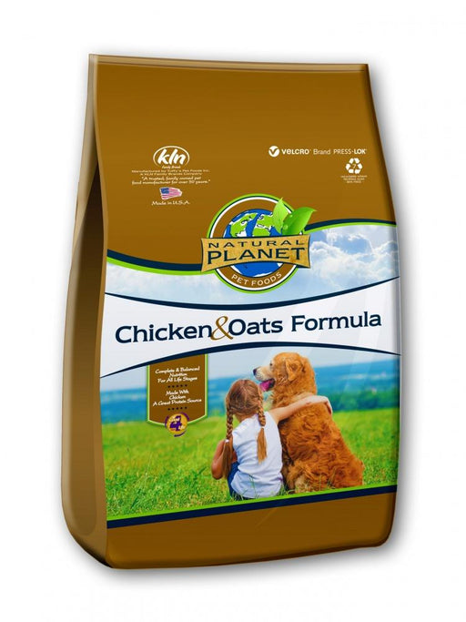 Natural Planet Chicken and Oats Formula Dry Dog Food