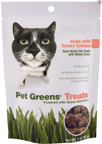 BellRock Cat Greens Semi Moist Salmon Cat Treats