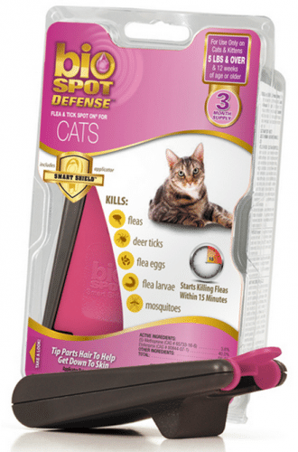 Bio Spot Active Care Flea and Tick Spot for Cats Over 5-lb