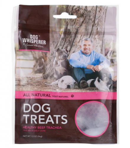 Cesar Millan All Natural Healthy Beef Trachea Dog Treats