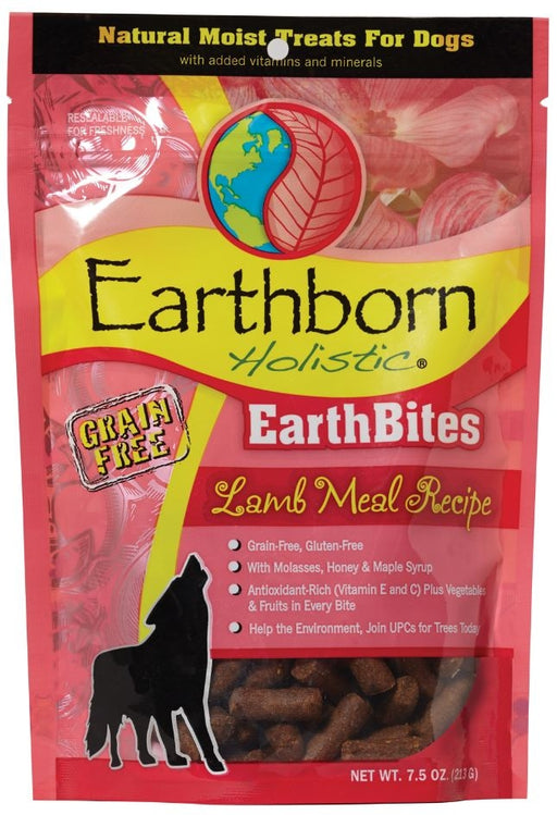 Earthborn Holistic EarthBites Lamb Meal Recipe Dog Treats