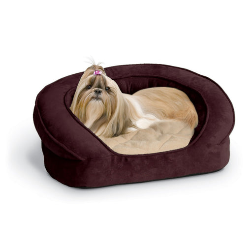 K&H Pet Products Deluxe Orthopedic Bolster Sleeper Pet Bed