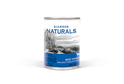 Diamond Naturals Beef Dinner for Adult Dogs and Puppies Canned Dog Food