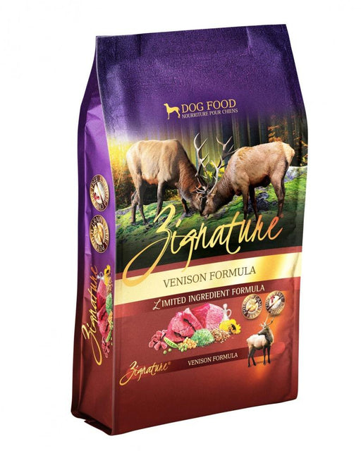 Zignature Venison Limited Ingredient Formula Dry Dog Food