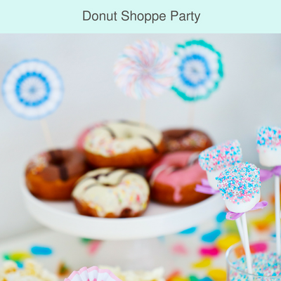 Donut Shop Party