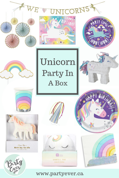 I Believe in Unicorns Party