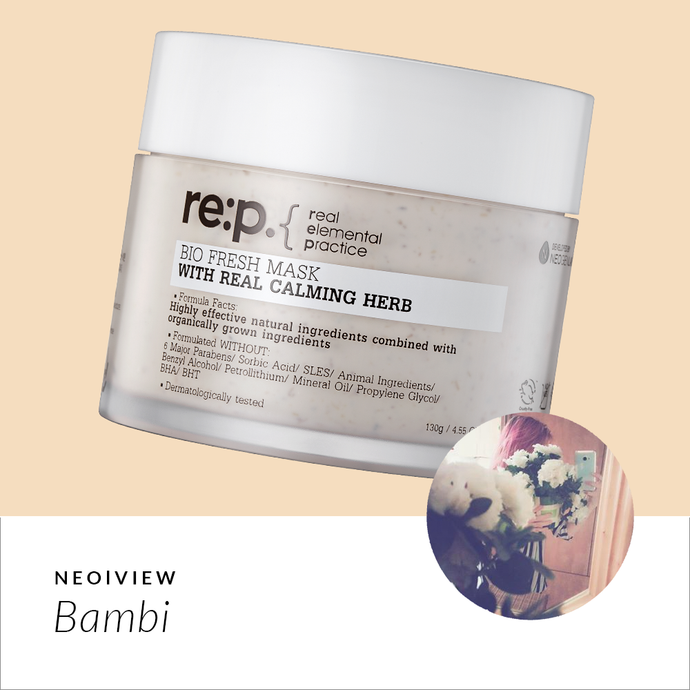 RE:P Bio Fresh Mask With Real Calming Herbs Review By Bambi