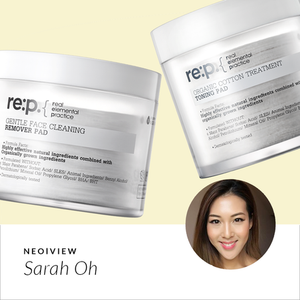Eco-friendly, Natural Skincare, Re:p <br>REVIEW BY Sarah Oh