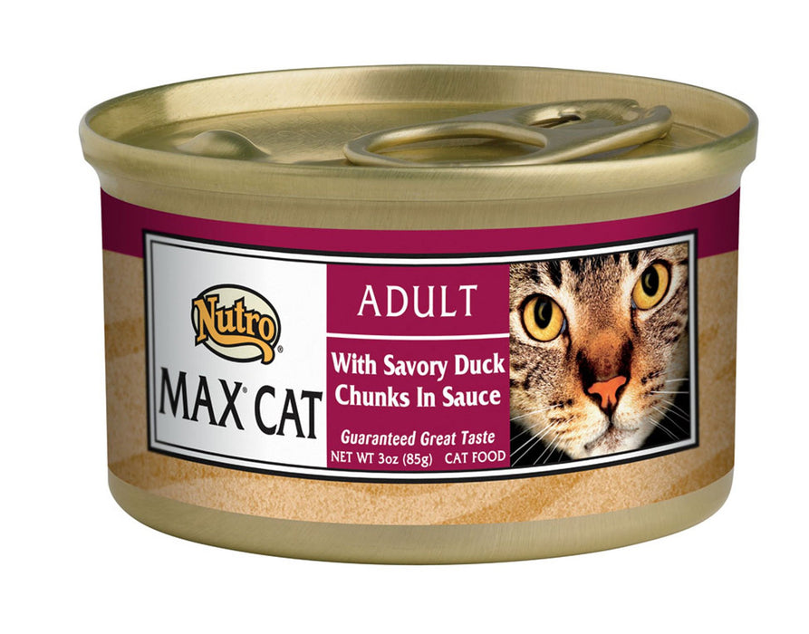 Nutro Max Savory Duck Canned Cat Food