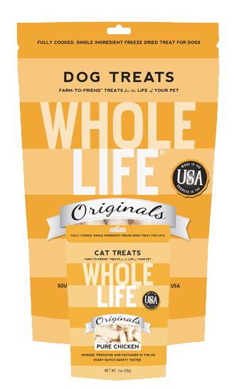 Whole Life Originals Pure Meat 100% Chicken Treats