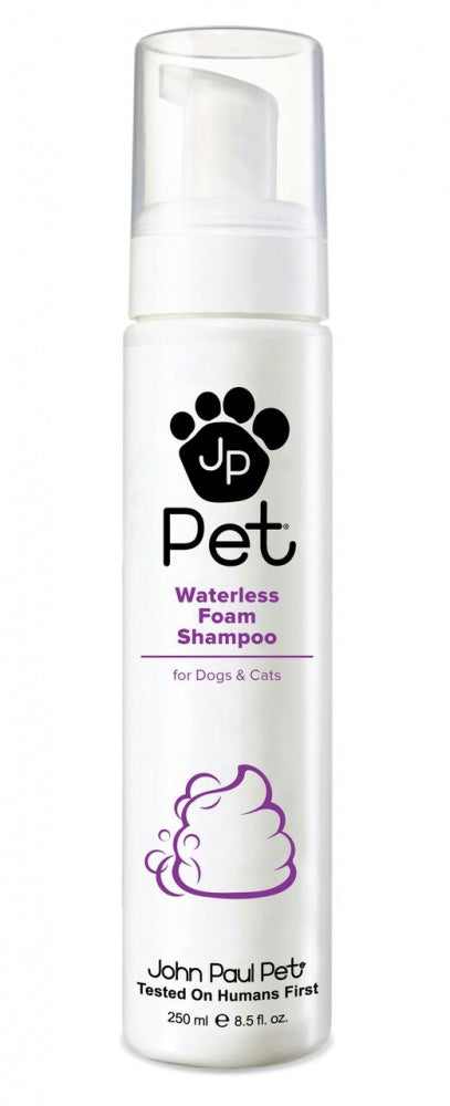 John Paul Pet Waterless Foam Shampoo for Dogs