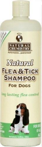 Natural Chemistry Flea and Tick Shampoo for Dogs