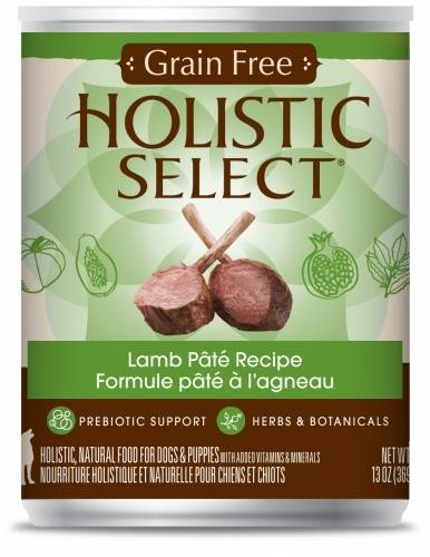 Holistic Select NaturalGrain Free Lamb Recipe Wet Canned Dog Food