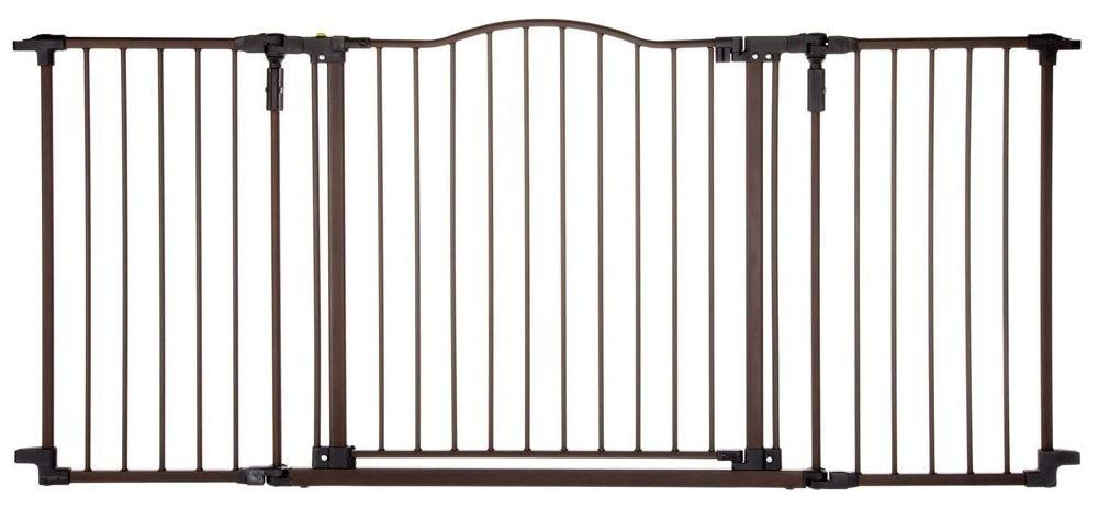 North States Deluxe Decor Wall Mounted Pet Gate
